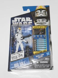 Star Wars Clone Trooper Pilot Odd Ball CW14 Clone Wars 2009 | eBay