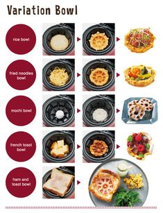 So you can get fancy with variation bowls. | Community Post: Japan Has Invented A Waffle Bowl Maker And The World Is Forever Changed