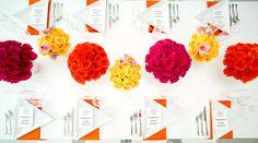 Pop art theme: http://www.stylemepretty.com/2014/08/19/pop-art-wedding-inspiration/