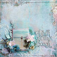 Layout: Blue Fern Studios *A Walk on the Beach*