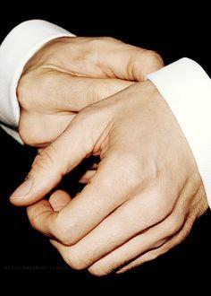 Even his hands......