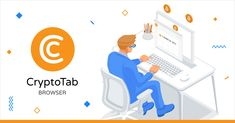 CryptoTab Browser is the world's first web browser with built-in mining features. Familiar Chrome user interface is perfectly combined with extremely fast mining speed. Mine and browse at the same time! Bitcoin Mining Software, Free Bitcoin Mining, Bitcoin Miner, Fast Browser, Web Browser, Make More Money, Extra Money, Blockchain, Btc Miner