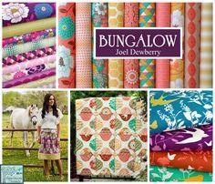 Bungalow by Joel Dewberry - gorgeous applique quilt pattern