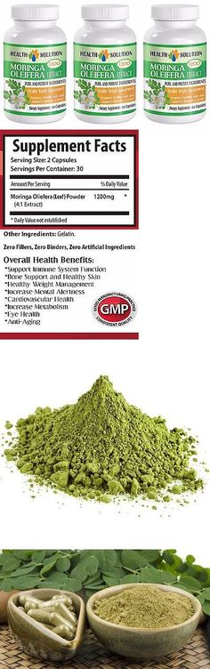 Weight Loss Supplements: Fat Burner Pills - Moringa Oleifera Leaf Powder Extract - 1200Mg 180 Capsules -> BUY IT NOW ONLY: $31.95 on eBay!