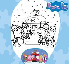 Christmas Activities, Peppa Pig, Snoopy, Fictional Characters, Art, Art Background, Kunst, Performing Arts, Fantasy Characters