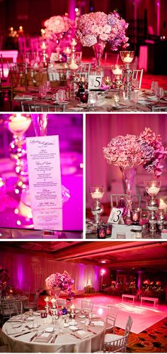 Lush, Glam Pink and Purple Wedding in California | WeddingWire: The Blog