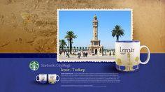 starbucks city mug Izmir