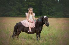 Princess on pony