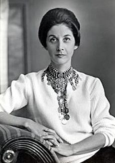 """camewiththeframe:  """" Nadine Gordimer 1923-2014  Love That Necklace  (Picture: 1961; Gallo Images  http://www.theguardian.com/culture/gallery/2014/jul/14/nadine-gordimer-a-life-in-pictures)  """""""