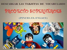 CAMBIEMOS EL MUNDO: PROYECTO SUPERHÉROES My Superhero, Love My Job, Classroom Management, Acting, Baseball Cards, How To Plan, Summer Camps, Marvel, Google