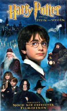 VHS-Video - Harry Potter und der Stein der Weisen