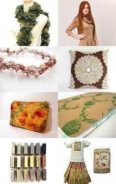Love this treasury! Great earth-toned Etsy gifts--Pinned with TreasuryPin.com