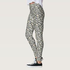 White Snow Leopard Print Leggings printed workout leggings, onzie leggings, how leggings #yogaoutfit #yogaeverydamnday #yogaeverywhere, dried orange slices, yule decorations, scandinavian christmas Leopard Print Leggings, Printed Leggings, Custom Leggings, Girl Outfits, Casual Outfits, Black And White Leggings, Brown Leopard, Pattern Leggings, White Shop