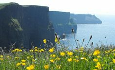 The Cliffs of Moher in breathtaking Ireland.