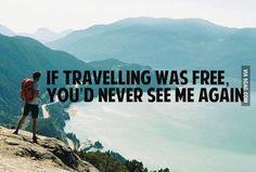 Never, ever...