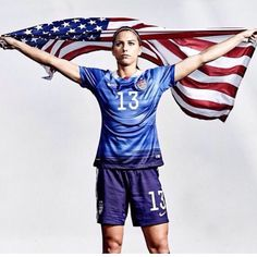 Love Alex Morgan. Bucket list gots to meet her sometime soon please
