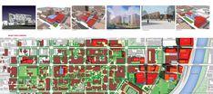 Sasaki - University of Pennsylvania - Campus Planning shows 3 land uses