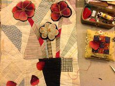 Thread and Thrift: Folk Art Flowers USA style