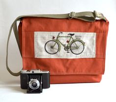 bicycle book bag