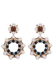 Eishia Earring - Wedding Ideas by Dannijo - Loverly
