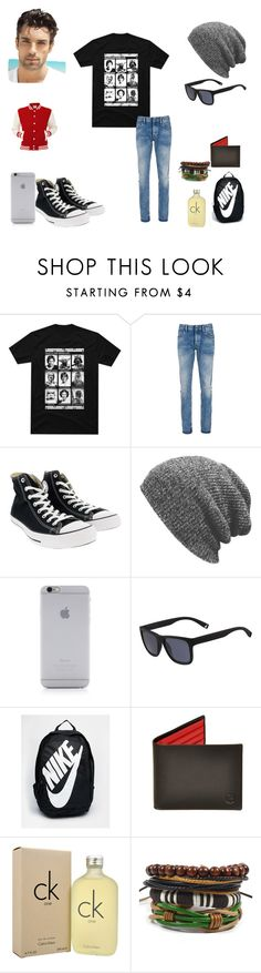 """Men style"" by squeekers95 ❤ liked on Polyvore featuring Denham, Converse, Native Union, Lacoste, NIKE, Calvin Klein, men's fashion and menswear"