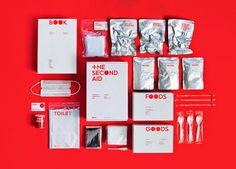 Packaging The Second Aid, un kit de supervivencia para terremotos