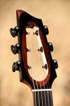 Casimi Guitars C2 Signature series headstock