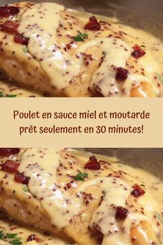 Sauce Au Miel, Chicken Recepies, Cooking Recipes, Healthy Recipes, Healthy Food, Salty Foods, Fish And Meat, Creative Food, Caramel Apples