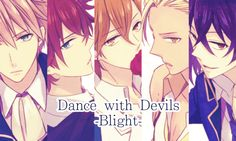 Dance with devils- Urie, Lindo, Mage, Shiki, Rem Mystic Messenger Hourglass, Messenger Games, Romance, Awesome Anime, Awesome Art, S Pic, Anime Guys, Cheating, Storytelling
