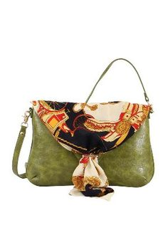 Mellow World Zoey Clutch in Olive- beyondtherack.com