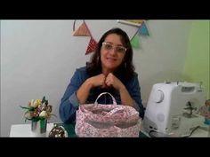 Artesanato - Organizador para bolsa (01/09/2015) - YouTube