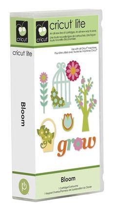 Cricut® Lite Bloom Cartridge