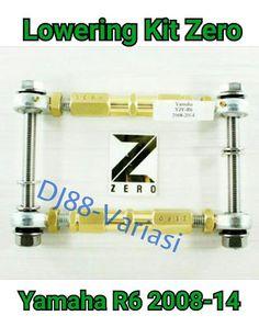 Lowering kit zero Yamaha R6 penurun shock yamaha r6 modifikasi r6 variasi r6 aksesoris r6 http://budgetmotorsports.com