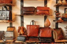 Will Leather Goods. Check out the brand new store in Venice, CA: http://almanacofstyle.com/2012/10/08/venice-welcomes-back-will-leather-goods/