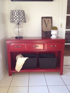 Trendy Ideas For Refinishing Furniture Diy Dresser Buffet Refurbished Furniture, Repurposed Furniture, Furniture Makeover, Painted Furniture, Dresser To Buffet, Dresser Tv Stand, Furniture Projects, Diy Furniture, Rustic Furniture