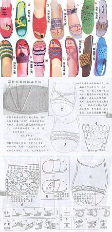 ВЯЗАНАЯ ОБУВЬ | Записи в рубрике ВЯЗАНАЯ ОБУВЬ | Дневник Juliy_Li Shoe Pattern, Kids Socks, Crochet Slippers, Crochet For Kids, Beautiful Crochet, Sock Shoes, Flip Flop Sandals, Crochet Lace, Diy And Crafts