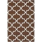 Pollack Keely Chocolate (Brown) 7 ft. 6 in. x 9 ft. 6 in. Indoor Area Rug