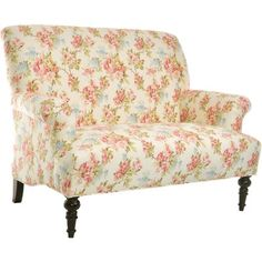 Offer guests a comfortable seat with this lovely essential, boasting springtime style and enviable appeal.   Product: Settee