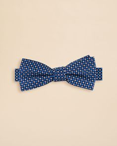 Bloomingdale's Boys Newton Neat Bow Tie