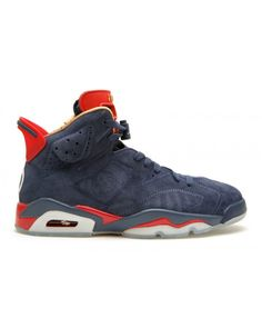 ce12a1be64093d Air Jordan 6 Retro Db Doernbecher Mid Nvy White Vrsty Rd Mtllc G 392789 401  Cheap