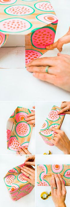 gift wrapping ideas   designlovefest + how to perfectly wrap your presents