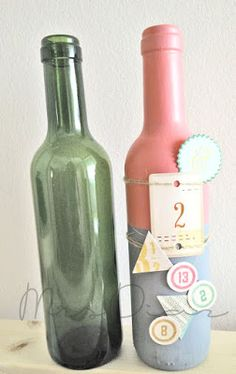 Mad Scrap Project Mad, Scrap, Bottle, Projects, Blog, Home Decor, Log Projects, Homemade Home Decor, Tat