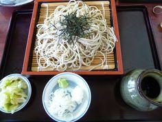 "Pranzo, ""Wakasarechaya"" (Soba-Osteria), Kitakaruizawa Gunma Japan (Agosto)"