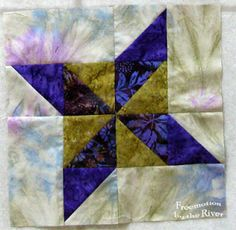 Aurifil Designer of the Month May blocks 2013
