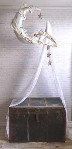 My Moon My Stars My Everything Canopy by SwankyEgg on Etsy