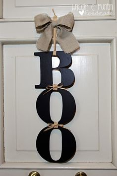 Come fare una decorazione per Halloween da appendere alla porta di casa!