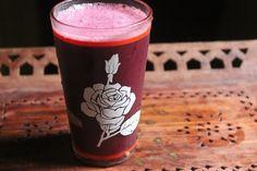 Homemade grape juice! Ingredients:  Grapes - 3 cups Sugar - 2 to 3 tblspn Lemon Juice - 1 tblspn Water as needed