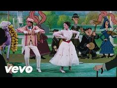 """Supercalifragilisticexpialidocious (from """"Mary Poppins"""") - Julie Andrews, Dick Van Dyke - YouTube"""