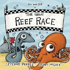 The Great Reef Race - an undersea adventure about friendship, fair play and good sportsmanship Underwater Caves, Ocean Waves, Sea Creatures, Book Review, Childrens Books, Cute Pictures, Have Fun, How To Memorize Things, Nerd
