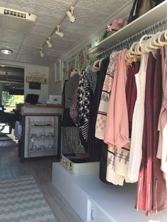 fashion truck layout - Google Search